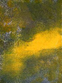 Grün, Décalcomanie, Energie, Malerei
