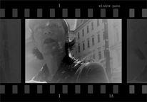 Glasscheibe, Wien, Selfie, Window pane