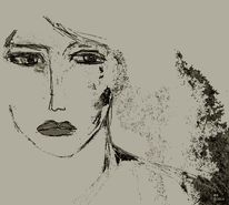 Schweigen, Augenblick, Portrait, Augen
