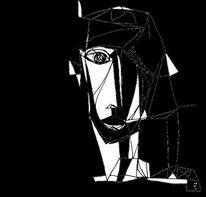 Ausdruck, Schwarzweiß, Surreal, Symbolik