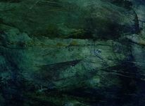 Dunkel, Blautöne, Grün, Düster