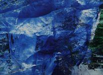 Berge, Eis, Frost, Blau