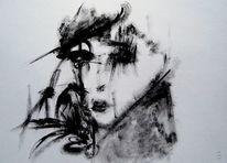Schwarzweiß, Surreal, Film noir, Malerei