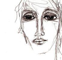 Blick, Augen, Krankheit, Ausdruck