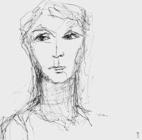 Augenblick, Gesicht, Portrait, Zeichnungen