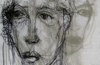 Transparenz, Portrait, Zeichnungen