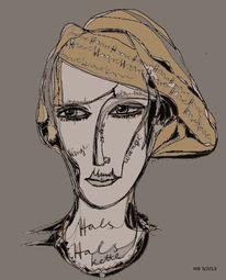 Schrift, Augen, Gesicht, Zeichnungen