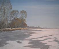 Schnee, Eis, Bodensee, Winter