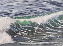 Welle, Sonne, Wasser, Bewegt