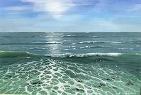 Sonne, Meer, Wasser, Welle