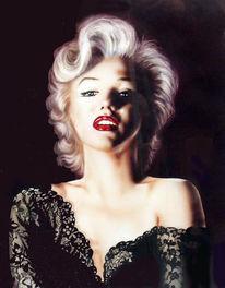 Malerei, Marilyn monroe, Figural