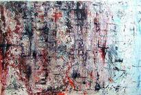 Abstrakt, Acrylmalerei, Nass, Malerei