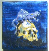 Ratte, Minigalerie, Schädel, Malerei