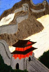 Mauer, Turm, Berkacher, China