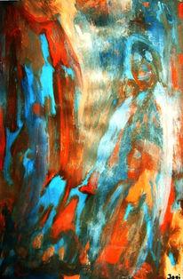 Blau, Leben, Abstrakt, Kind