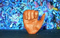 Plastik, Farben, Skulptur, Finger