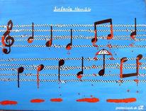 Schirm, Sinfonie, Blau, Melodie