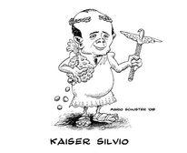 Berlusconi, Italien, Zeichnungen, Kaiser