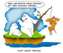 Knut, Eisbär, Zoo, Zeichnungen