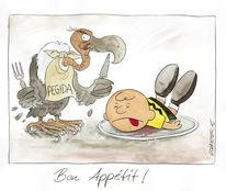Hebdo, Karikatur, Pegida, Cartoon