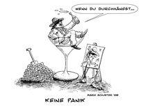 Lindenberg, Zeichnungen, Panik,