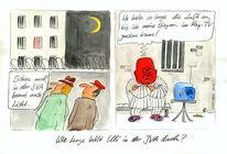 Bayern münchen, Karikatur, Hoeneß, Cartoon