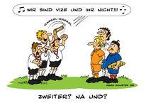 Fußball, Zeichnungen, Teil, Deutschland