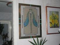 Grafik, Libelle, Jugendstil, Pinnwand