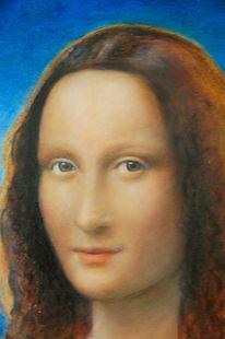 Mona lisa, Malerei, Portrait, Ausschnitt
