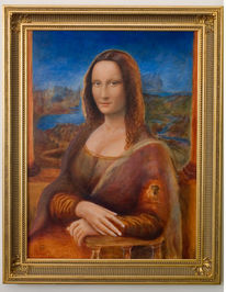 Mona lisa, Portrait, Malerei,