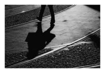 Straße, Fotografie, Schwarzweiß, Menschen