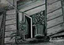 Malerei, Fenster