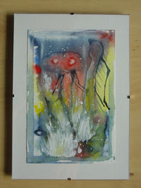 Mischtechnik, Abstrakt, Farben, Malerei