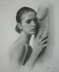 Akt, Mann, Portrait, Erotik