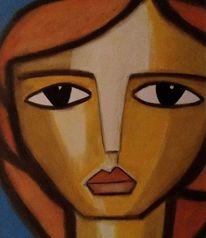 Leichtigkeit, Blick, Zukunft, Malerei