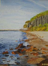 Aquarellmalerei, Ostsee, Malerei, Landschaft
