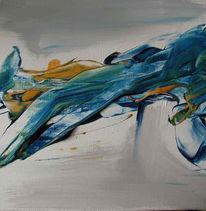 Malerei, Abstrakt, Erwachen