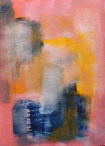 Abstrakt, Malerei, Wasser, Fisch