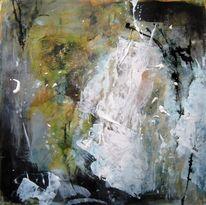 Collage, Schicht, Acrylmalerei, Malerei
