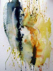 Malerei, Flammen, Eis