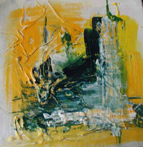 Abstrakt, Malerei, Großstadt