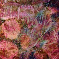 Blumen, Mischtechnik, Malerei