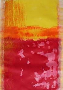 Abstrakt, Malerei, Sonne