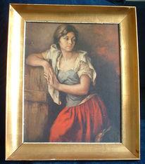 Mädchen, Figural, Spanien, Ribera