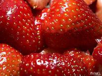 Stillleben, Fotografie, Erdbeeren