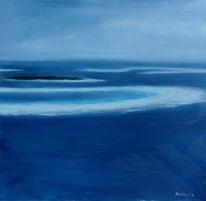 Malerei, Meer, Wasser, Landschaft