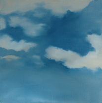 Wolken, Ölmalerei, Malerei,
