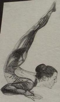 Studie, Portrait, Kunstturnen, Gymnastik