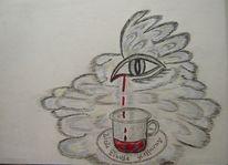 Stimmung, Zeichnung, Kohlezeichnung, Fantasie