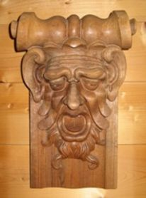 Holzbildhauerei, Figur, Kunsthandwerk, Stilschnitzerei